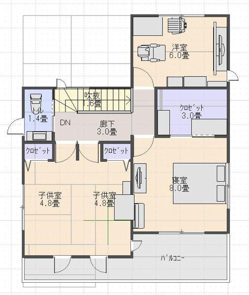 Madori_2nd_floor_2